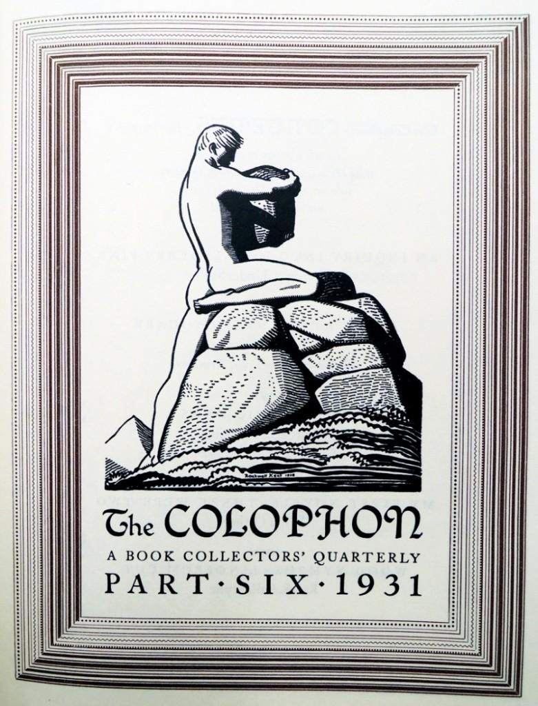 cleland colophon six2