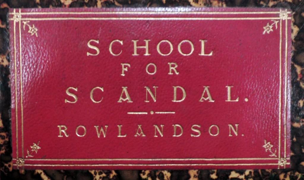 rowlandson school for 1