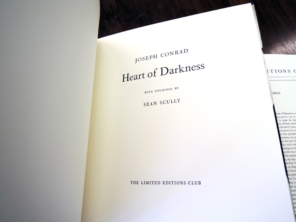 joseph conrads heart of darkness essay Joseph conrad has 708 ratings and 50 reviews russell said: i listened to this book on audio from discs i got at the library the first thing i should ad.