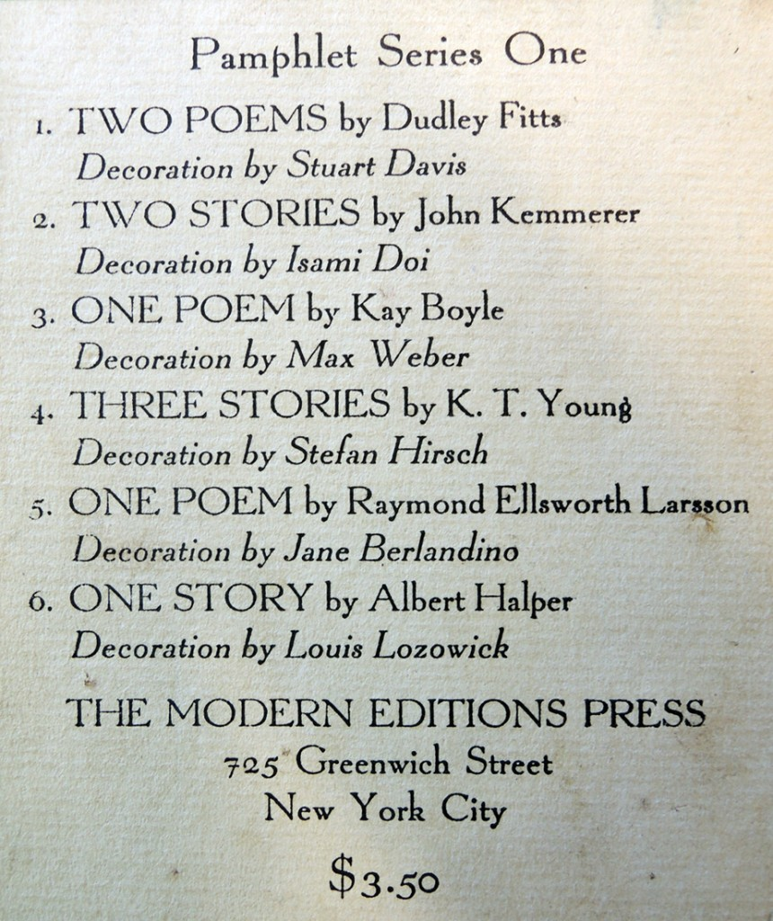pamphlet series 4