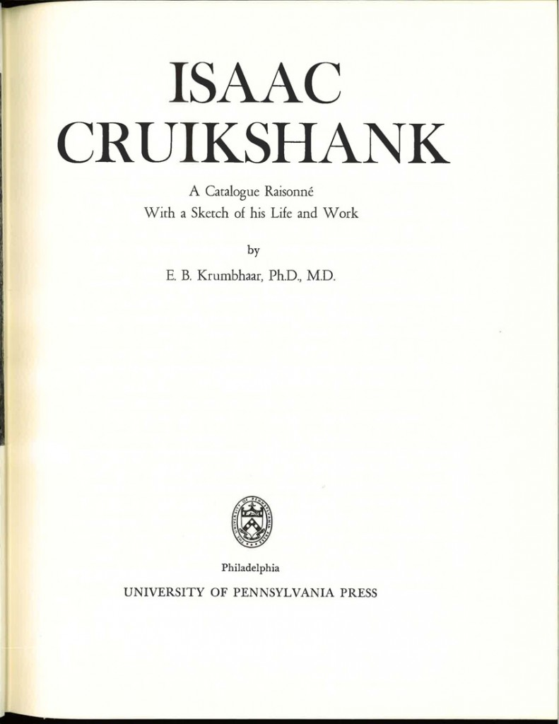 cruikshank life of the late5