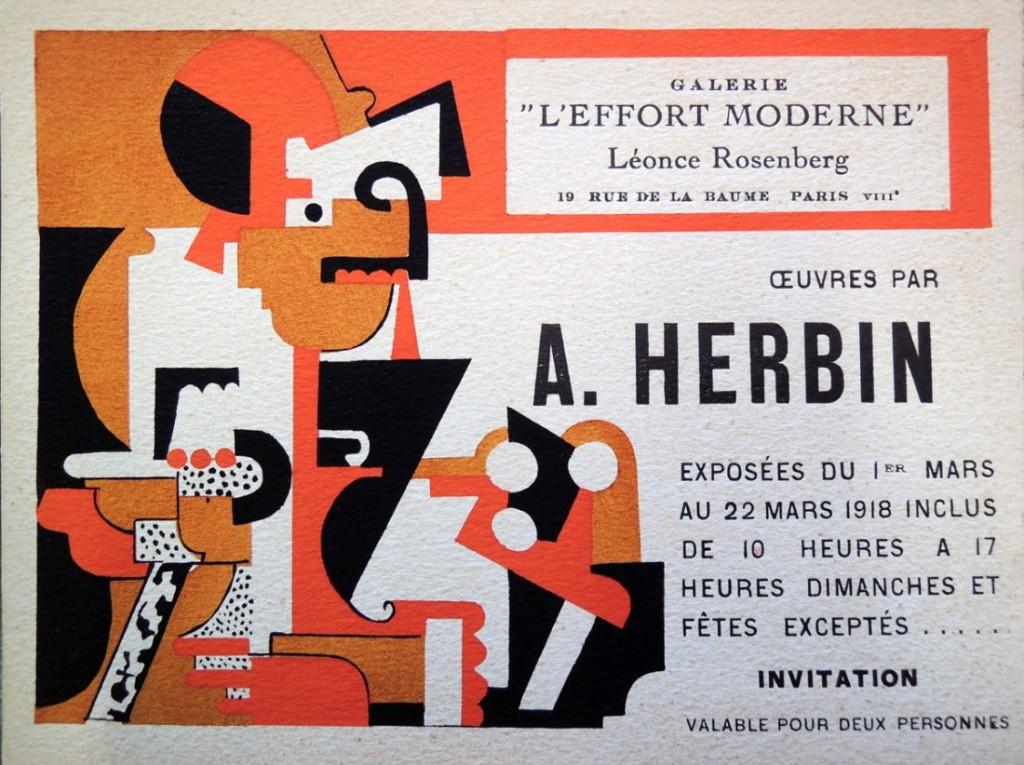 herbin pochoir invitation