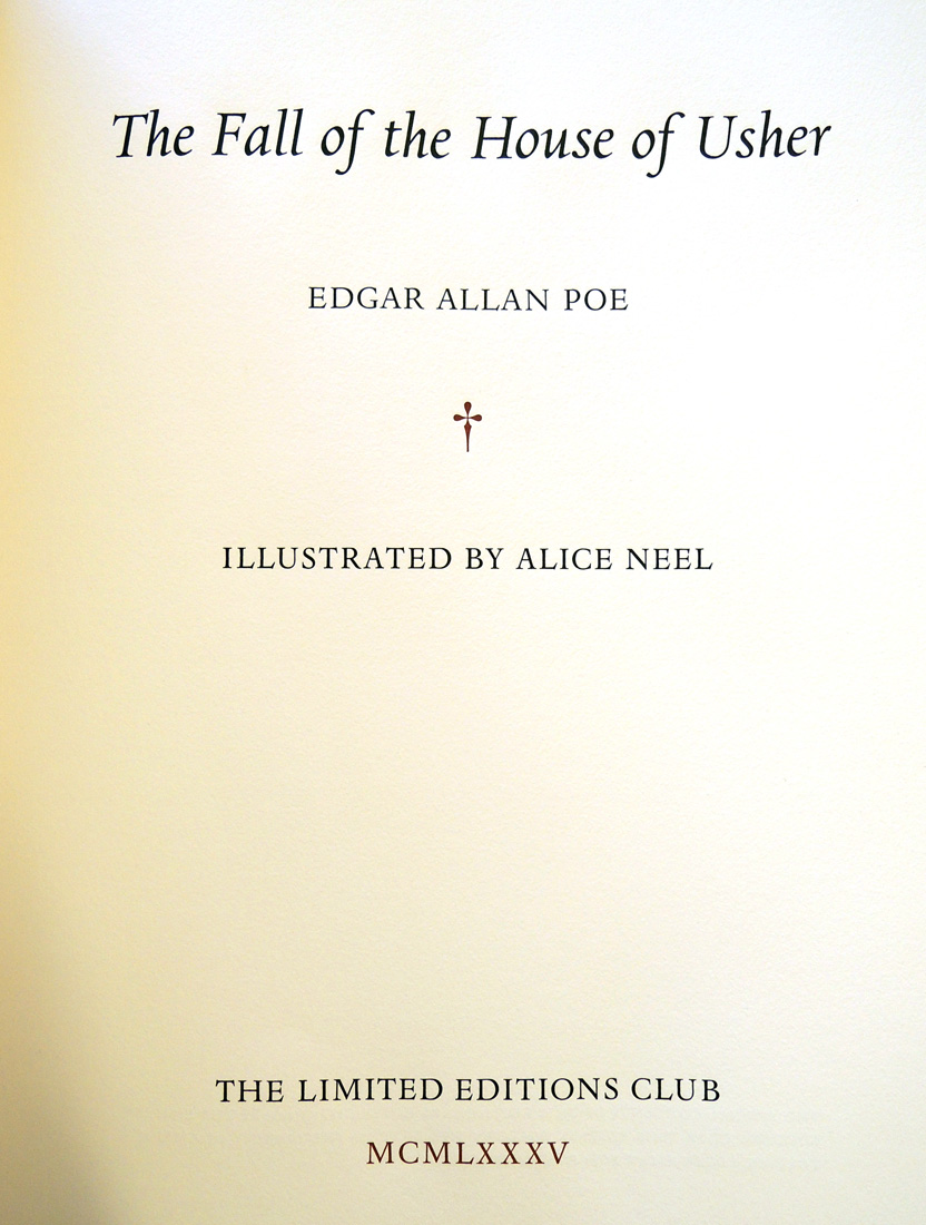 edgar allan poes mockery of transcendentalism in the fall of the house of usher Edgar allen poe was born on january 19, 1809 and died on october 7, 1849 he was known for his dark and sinister poems including his top poems, the fall of the house of usher, the tell-tale heart, and the raven.