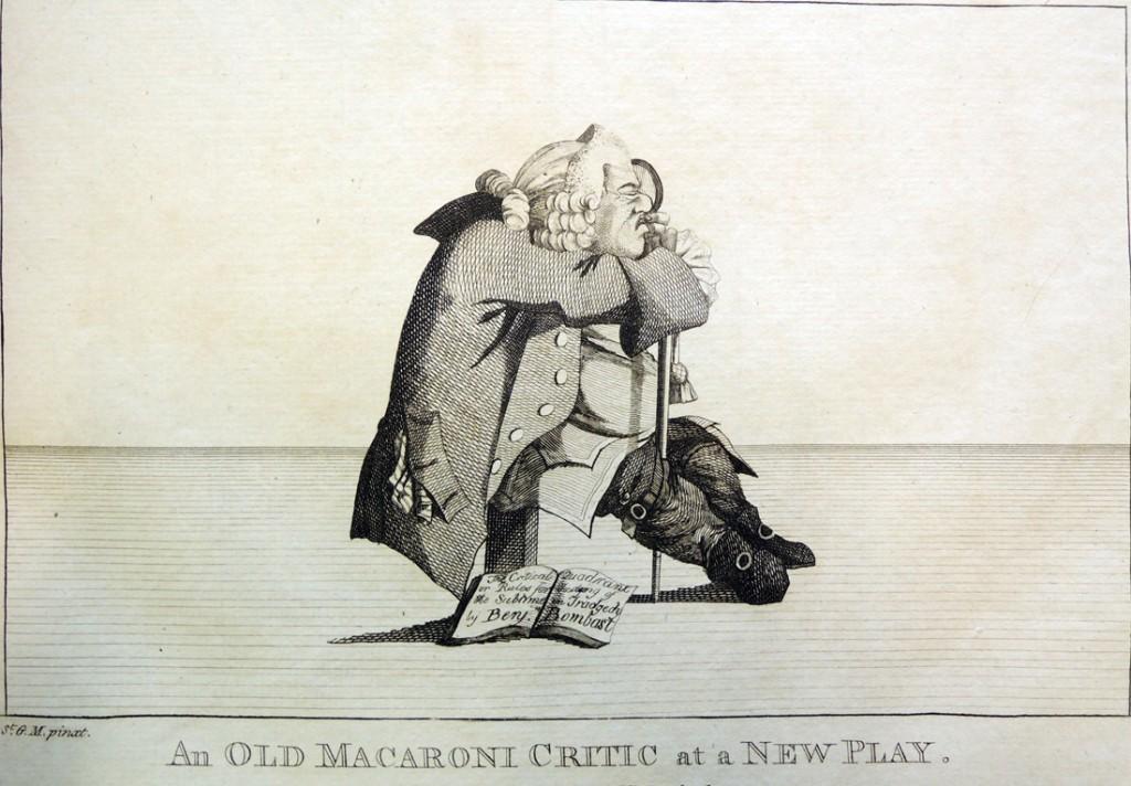 darly old macaroni critic