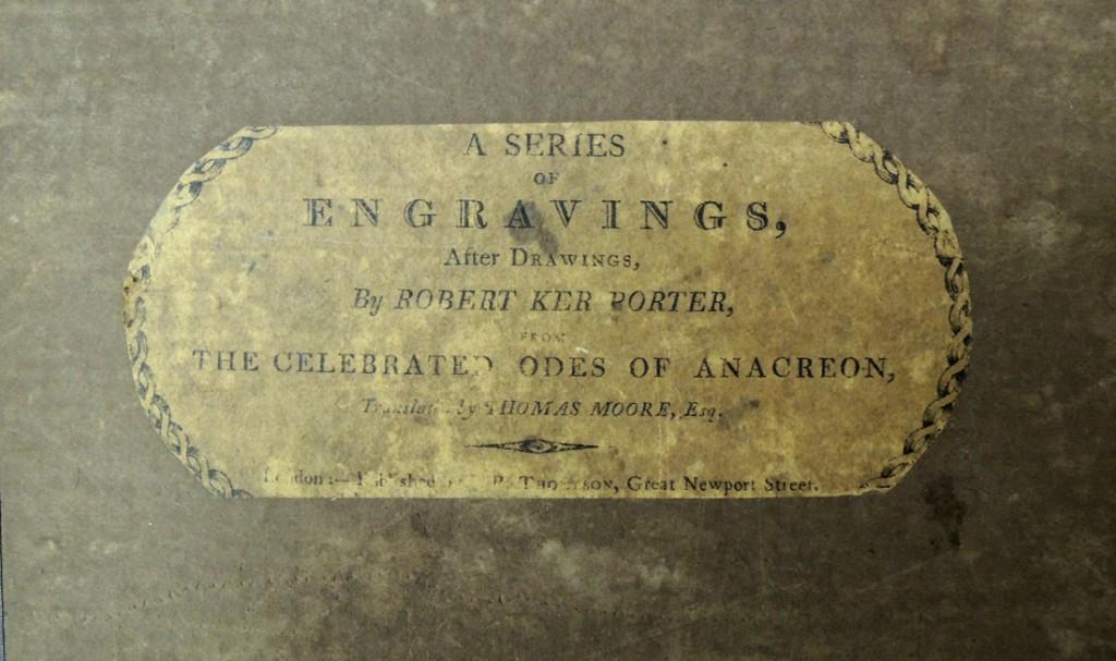 porter engravings