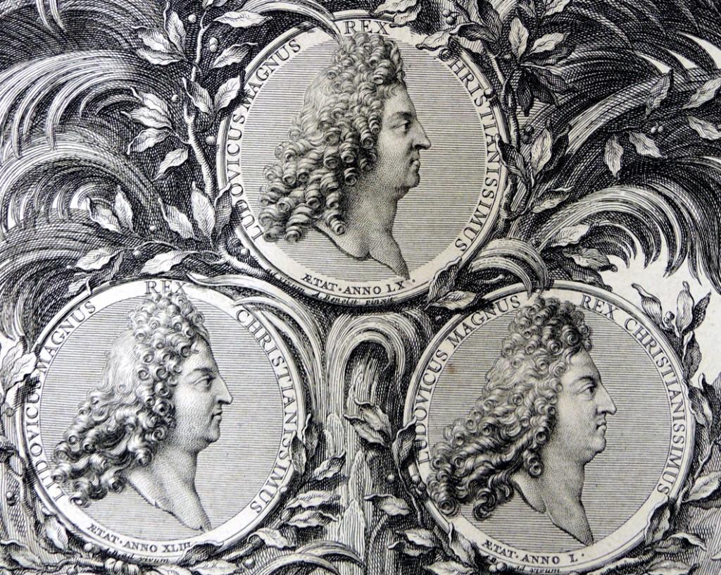 Portraits de Louis le Grand 2