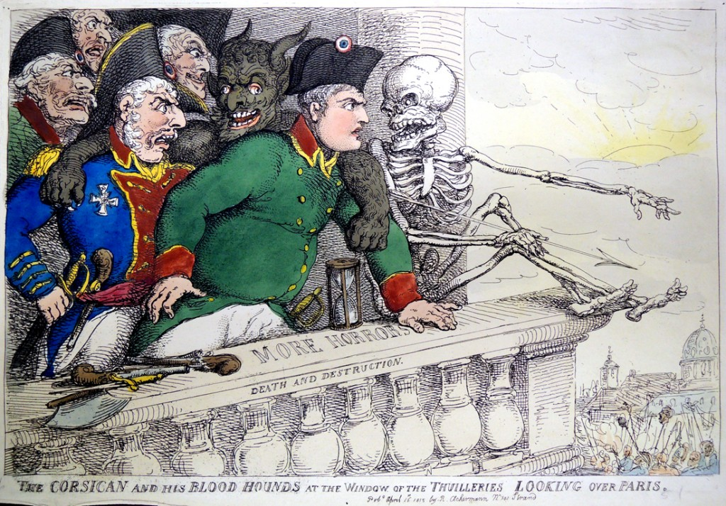 rowlandson corsican and his blood