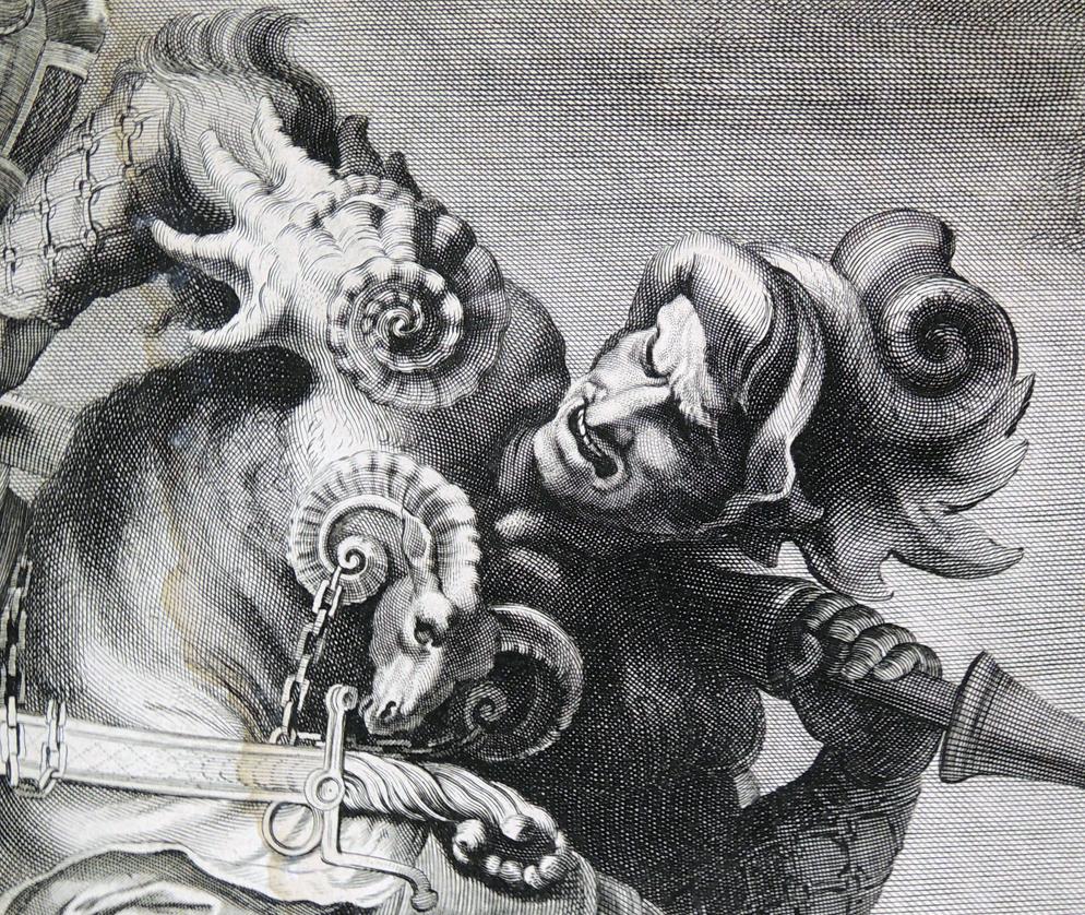 Edelinck's copy of Rubens' copy of Leonardo's lost ...
