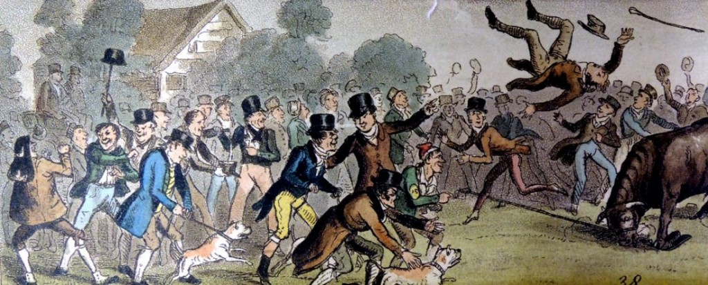 going to a fight cruikshank