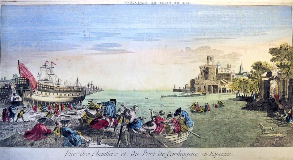 vue du port de cartageze