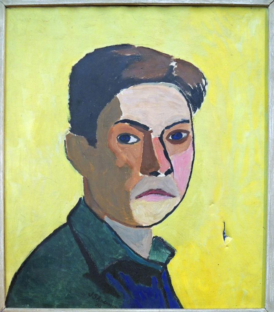 anderson, self portrait