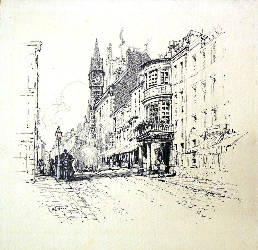 fenn street scene