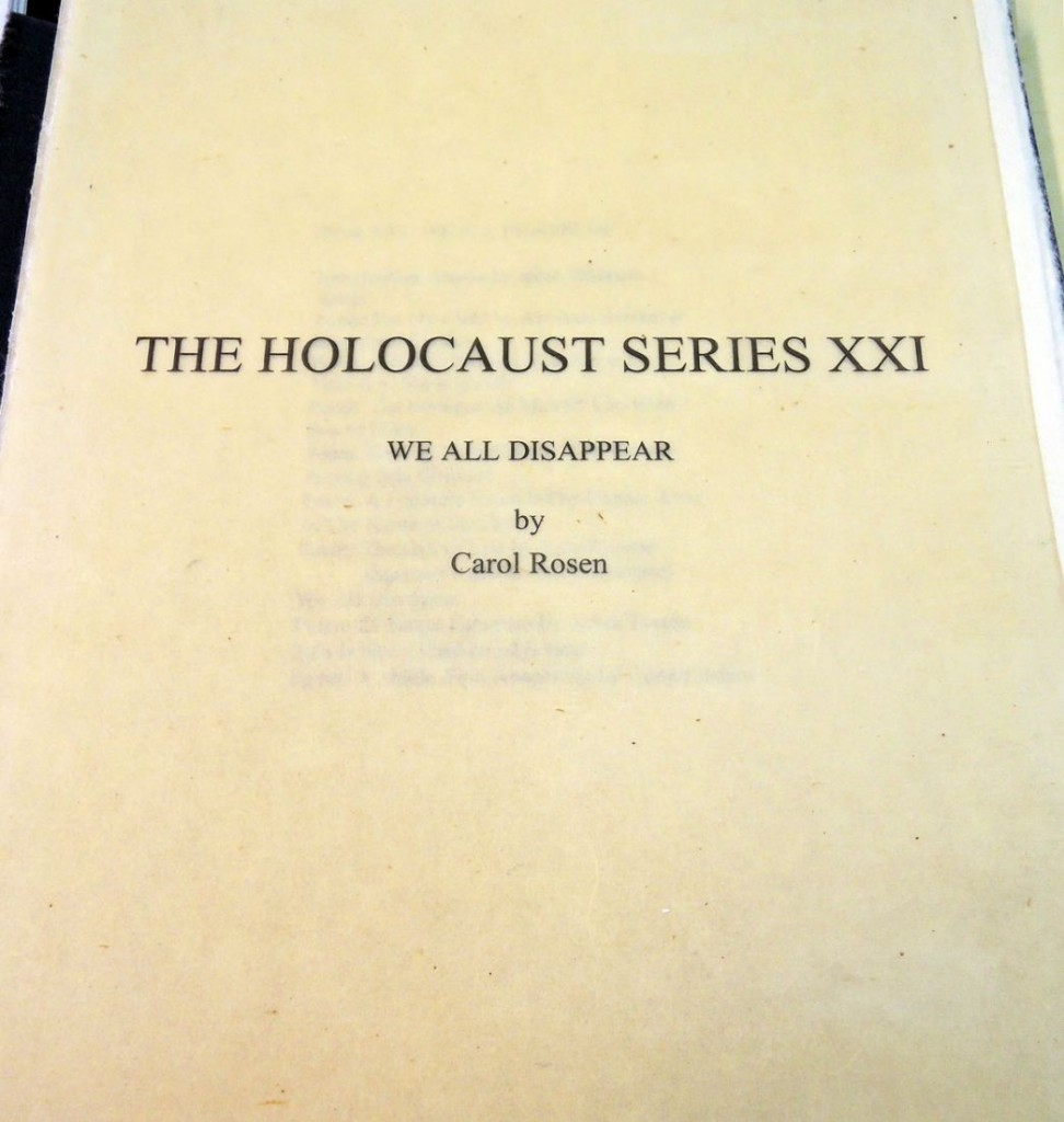 rosen holocaust series