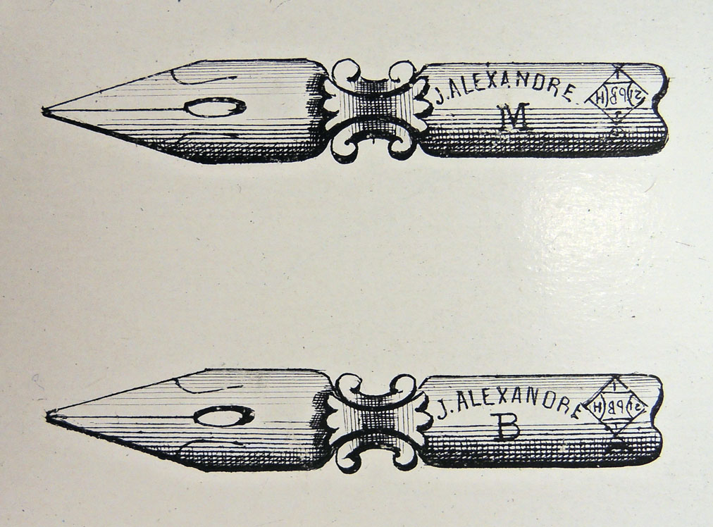 steel pen broadside belgian3