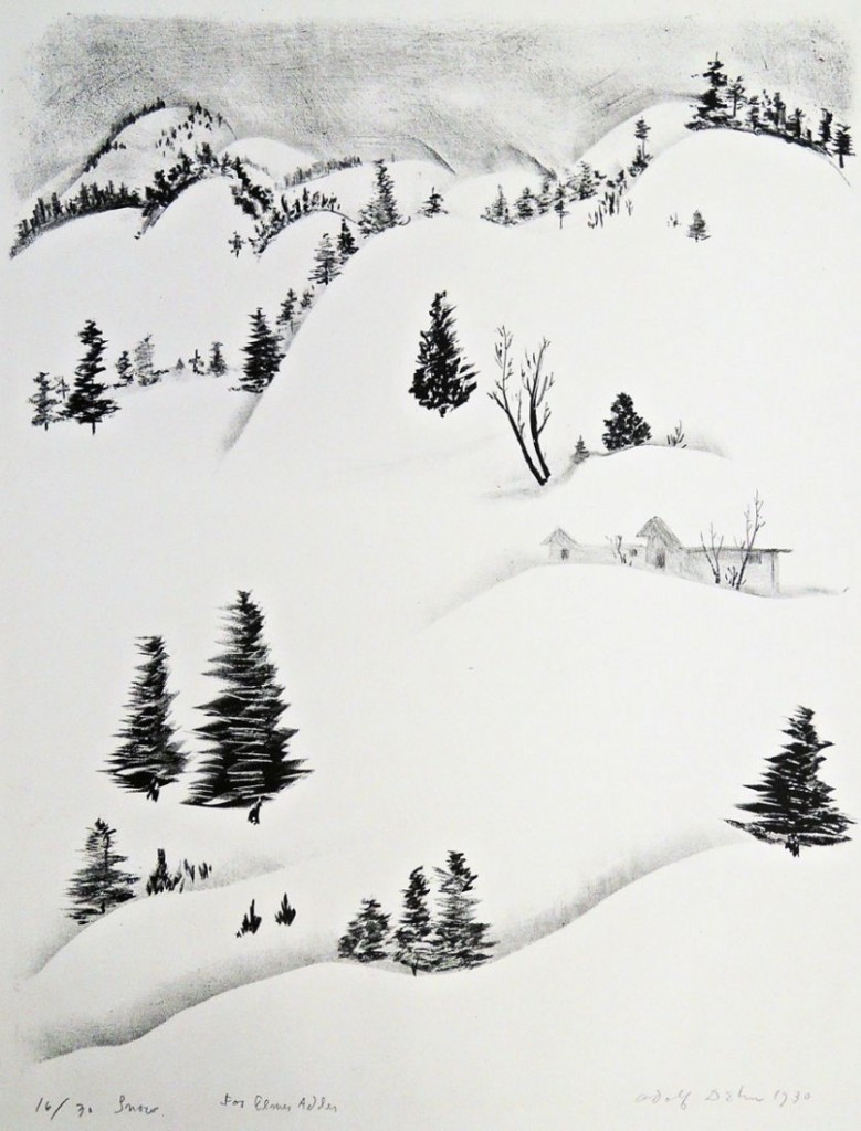 adolf dehn snow