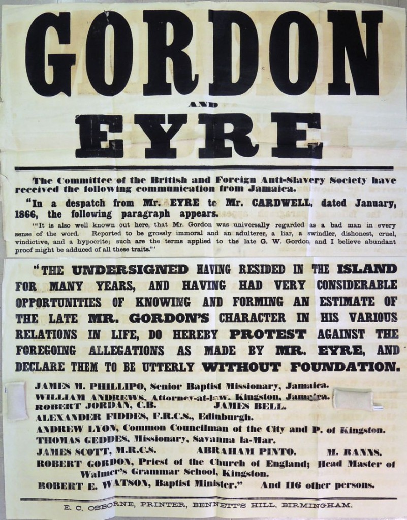 gordon and eyre broadside