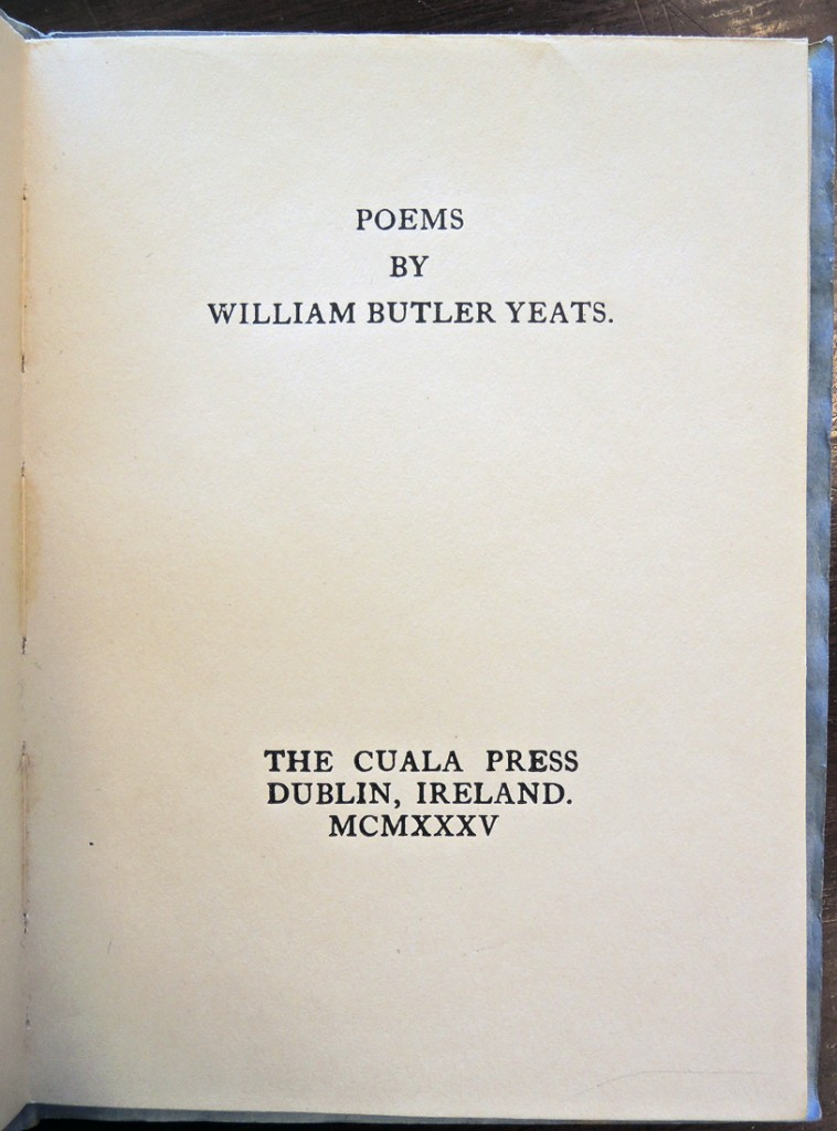 yeats poems2