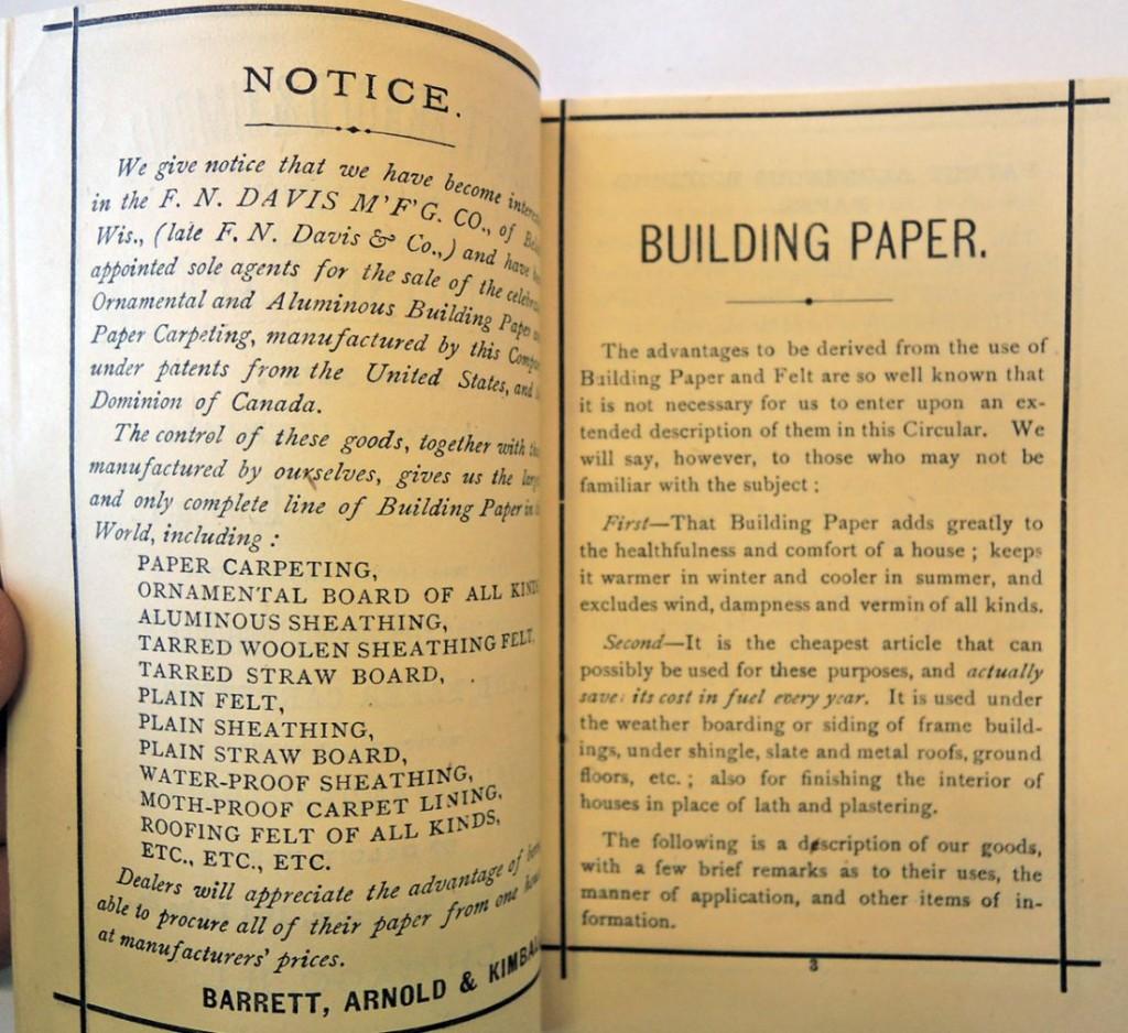 building paper3