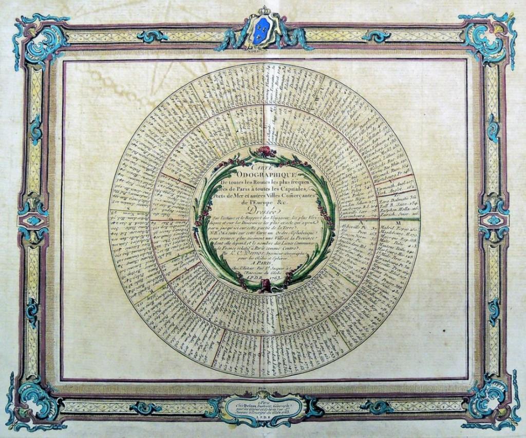 carte odographique
