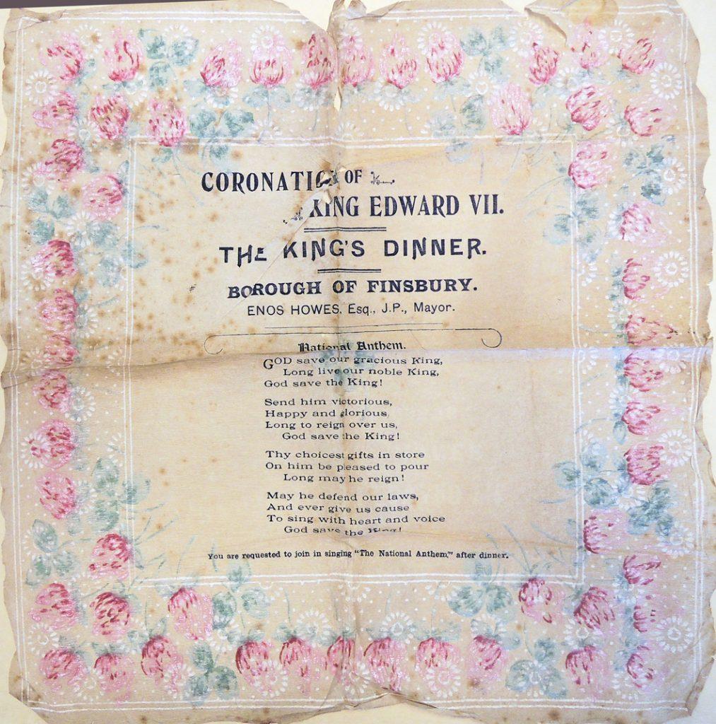 coronation napkin
