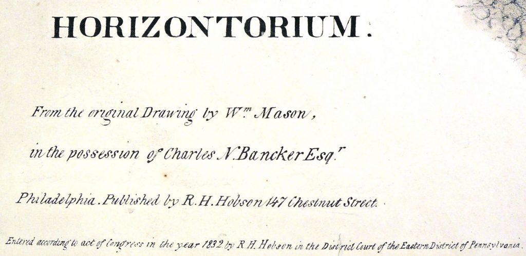 Horizontorium, 3D views in 1832