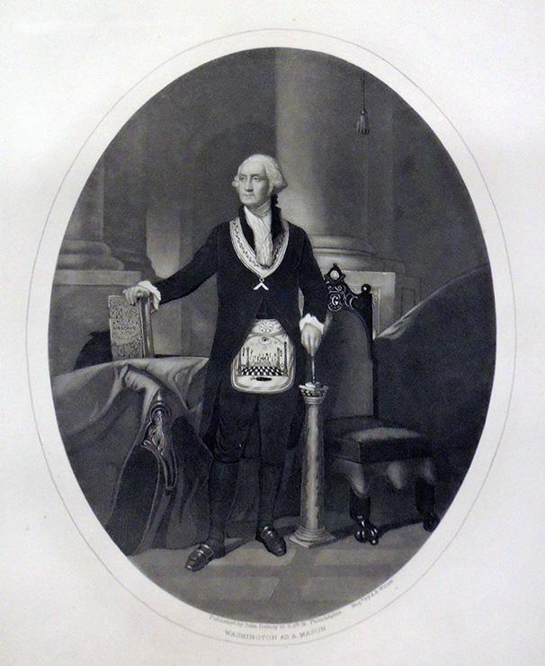 George Washington as a Freemason