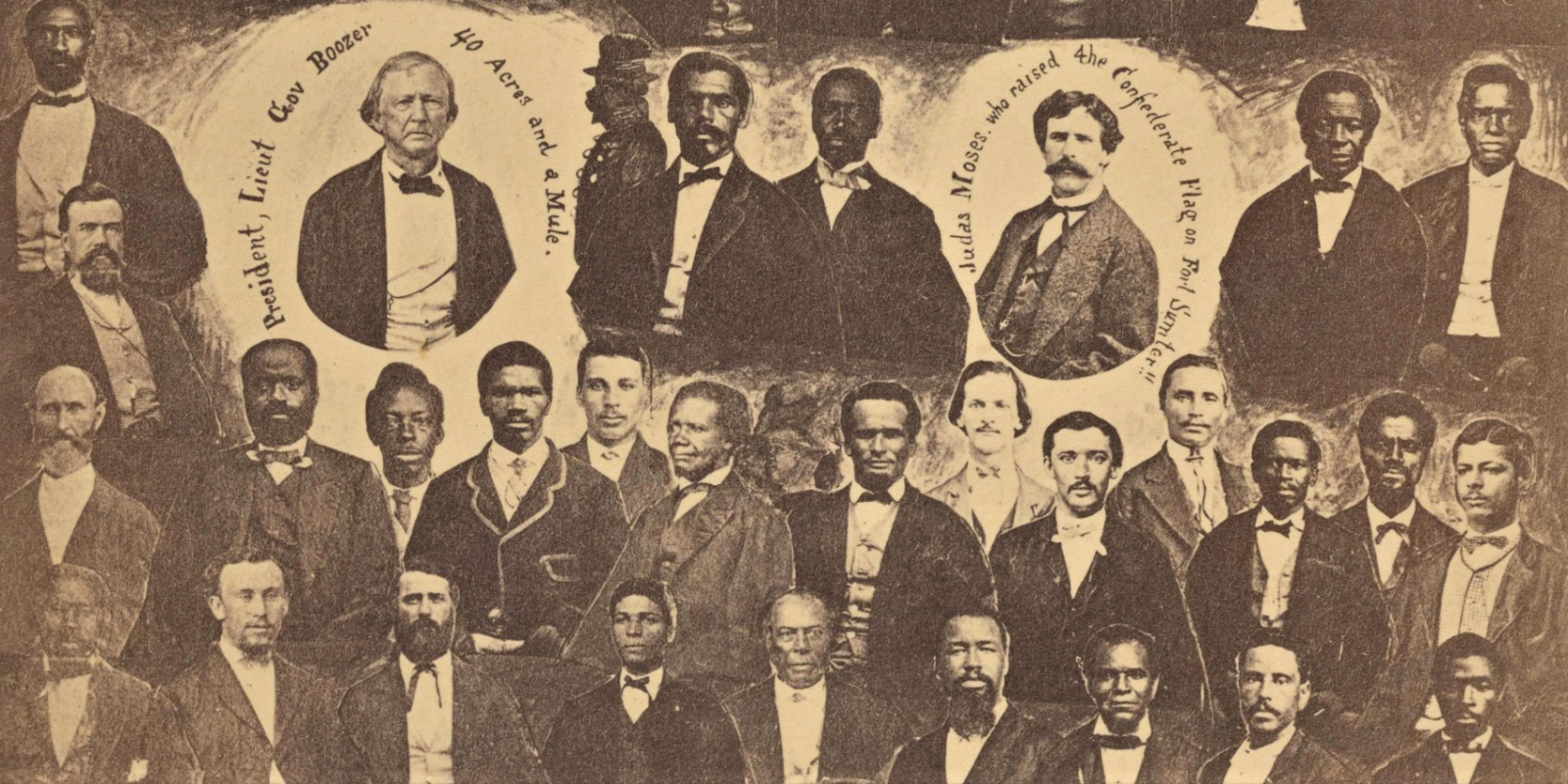 Radical members of the South Carolina Legislature | Graphic Arts